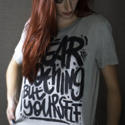 Fear nothing but yourself Toshy handpainted shirt